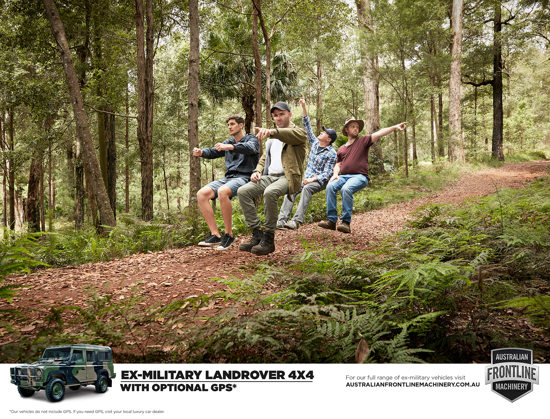 Australian Frontline Machinery  Agency:The Hallway  Creative Director: Simon Lee  Art Director: Dylan Soopramania  Copywriter:Steven Hey  Retouching: Cream Studios