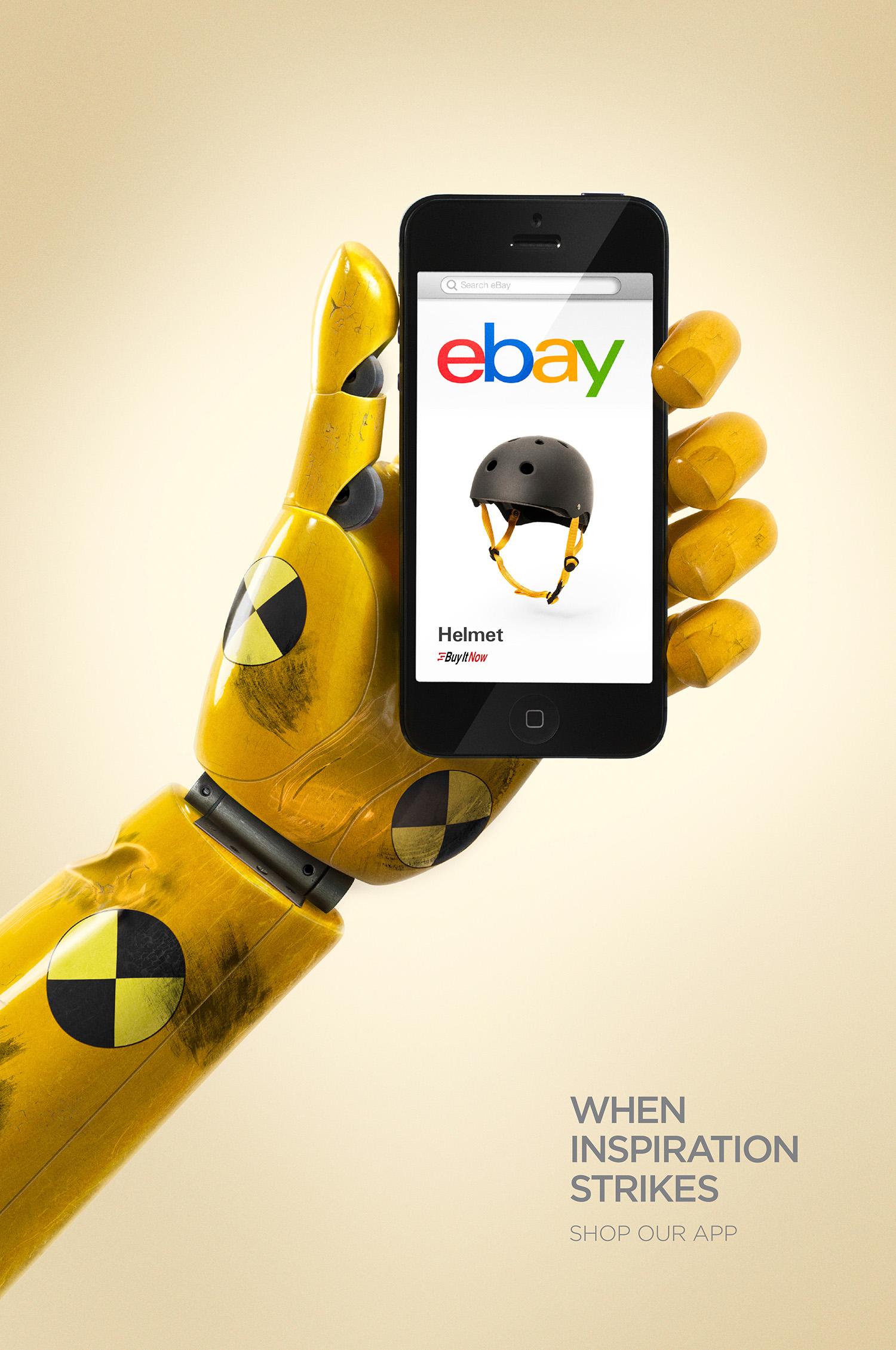eBay  Agency:Leo Burnett  Art Director: Brendan Donnelly  Copywriter: Guy Futcher  Retouching: Outpost