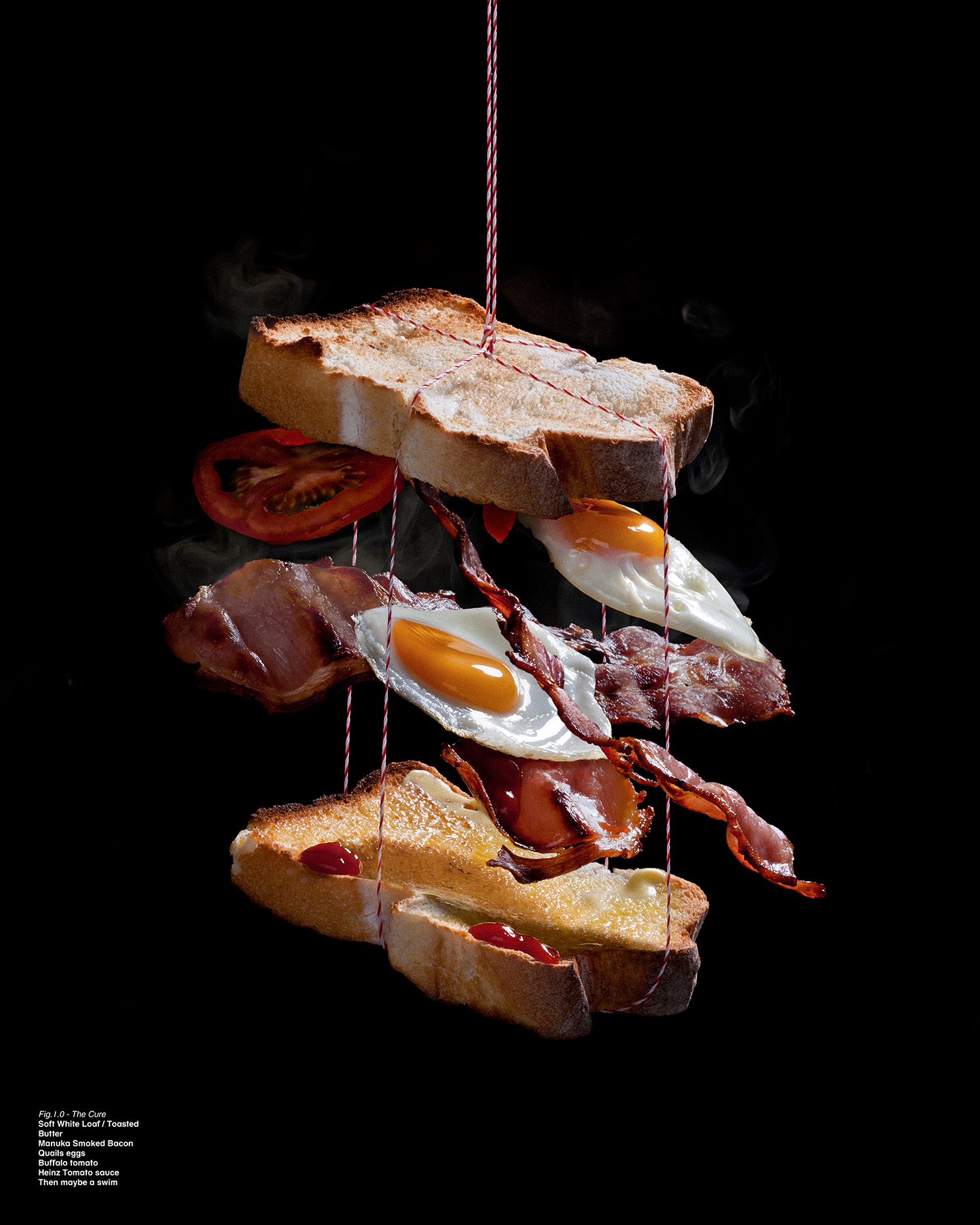 Hang Over  Agency:Maud  Art Director: David Park  Sandwich Wrangler: Ben Crick