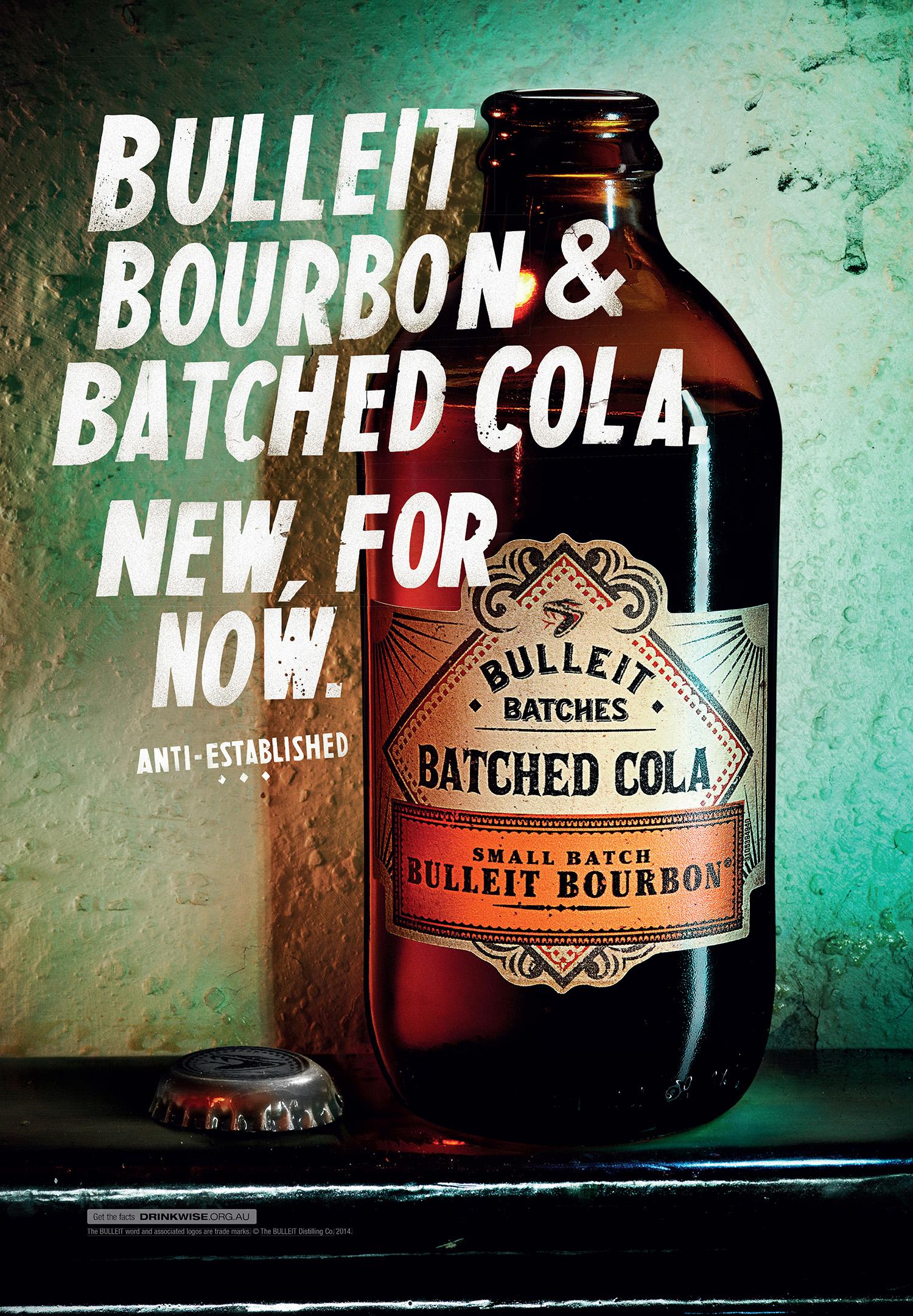 Bulleit Bourbon  Agency:Leo Burnett  Art Director: Ben Alden  Copywriter: Michael Dawson  Retouching: Cream Retouching