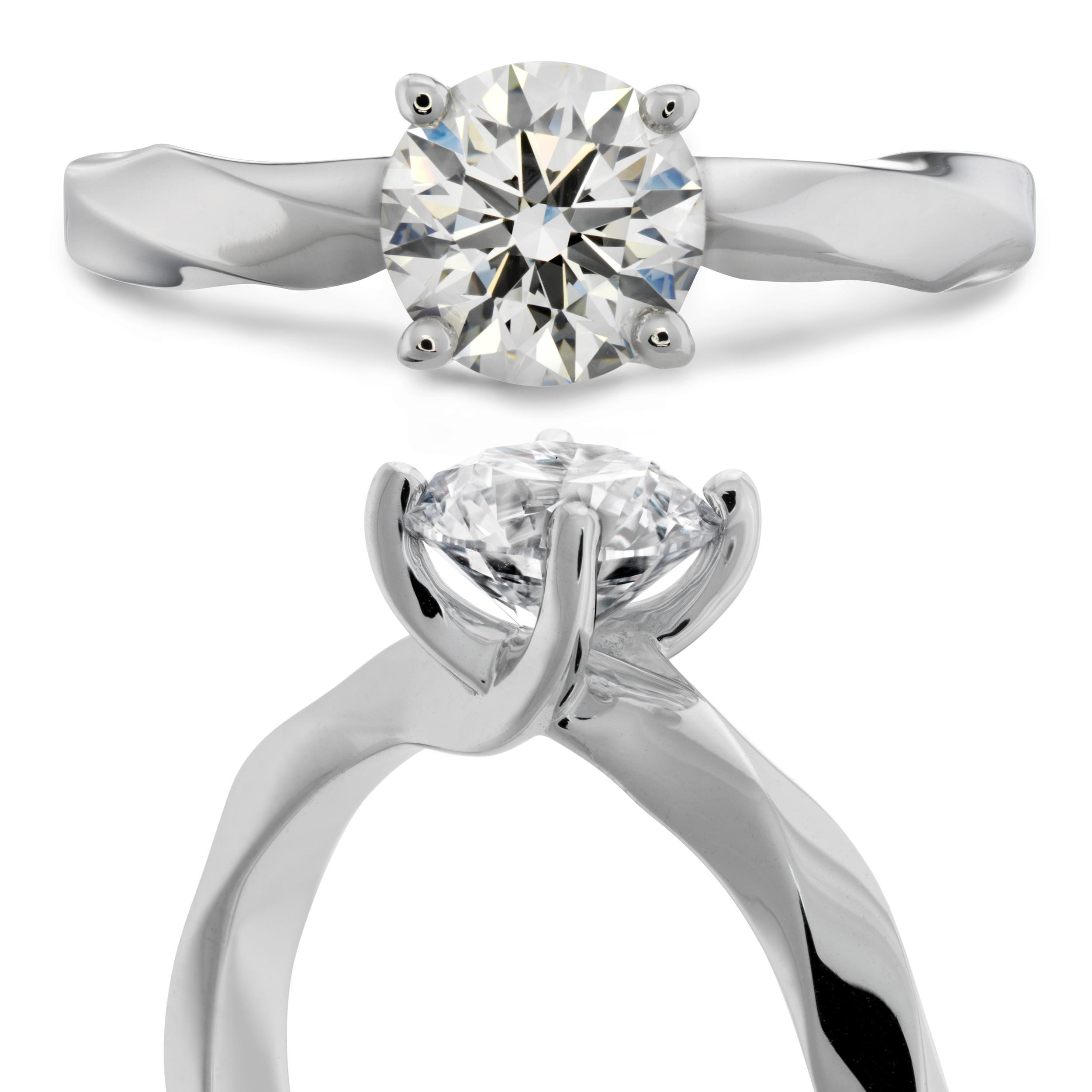 Hearts on Fire Diamond Ring   Camarillo CA   Van Gundys