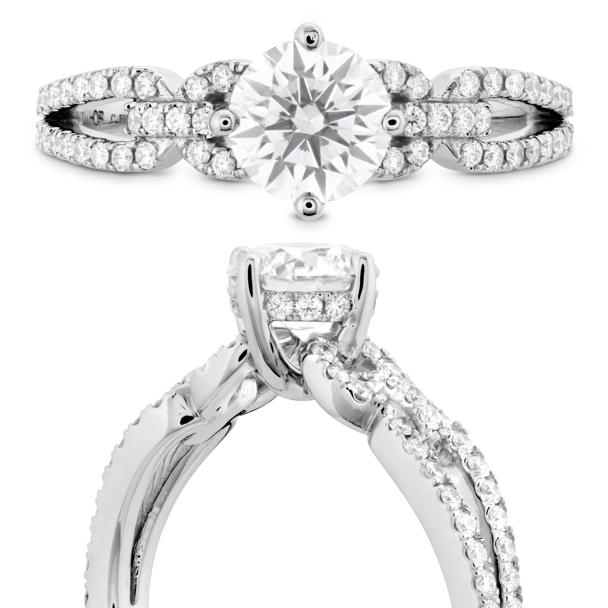 Hearts on Fire Diamond Ring   Ventura CA   Van Gundys