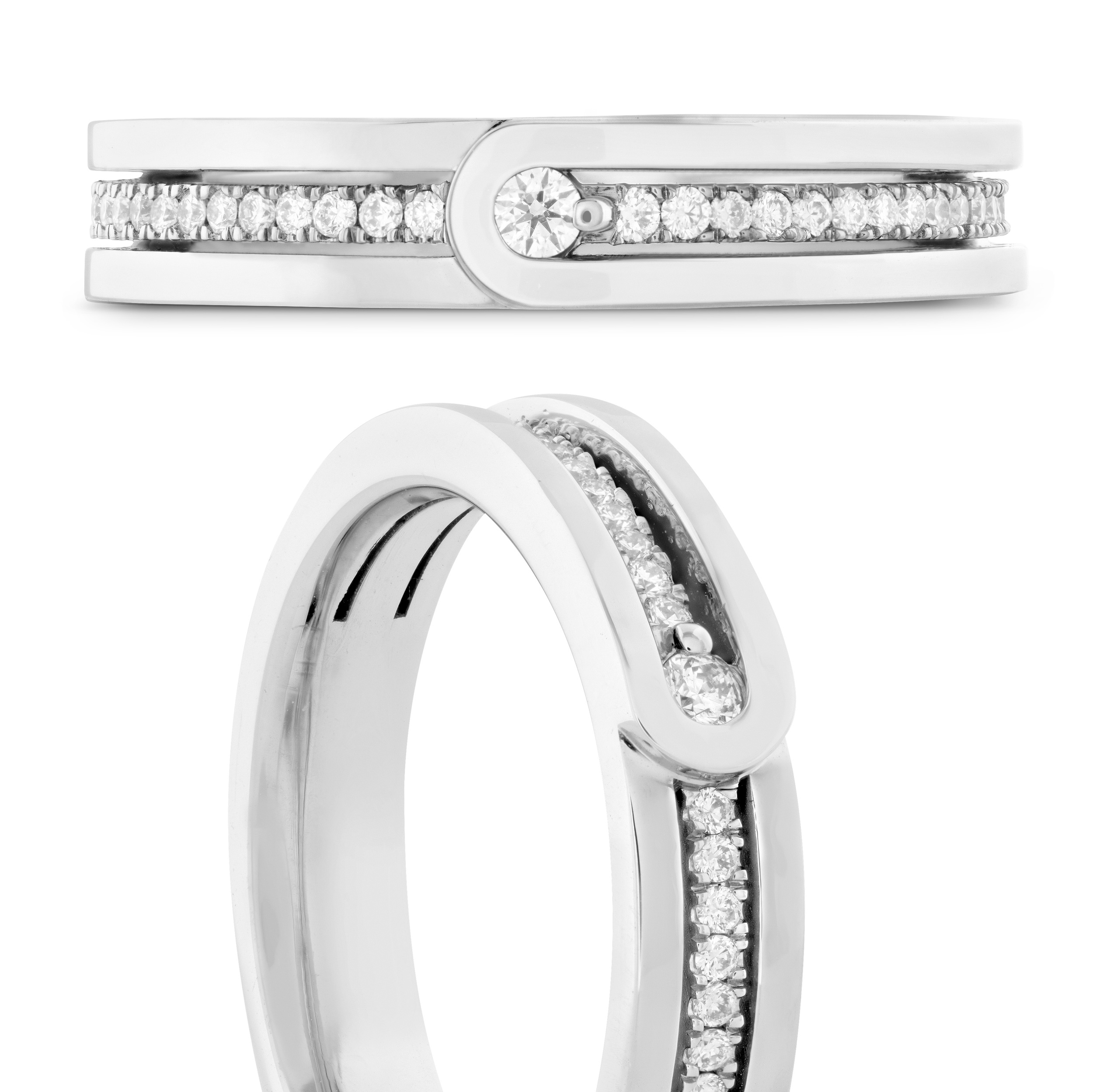 Hearts on Fire Ring   Camarillo CA   Van Gundy Jewelers