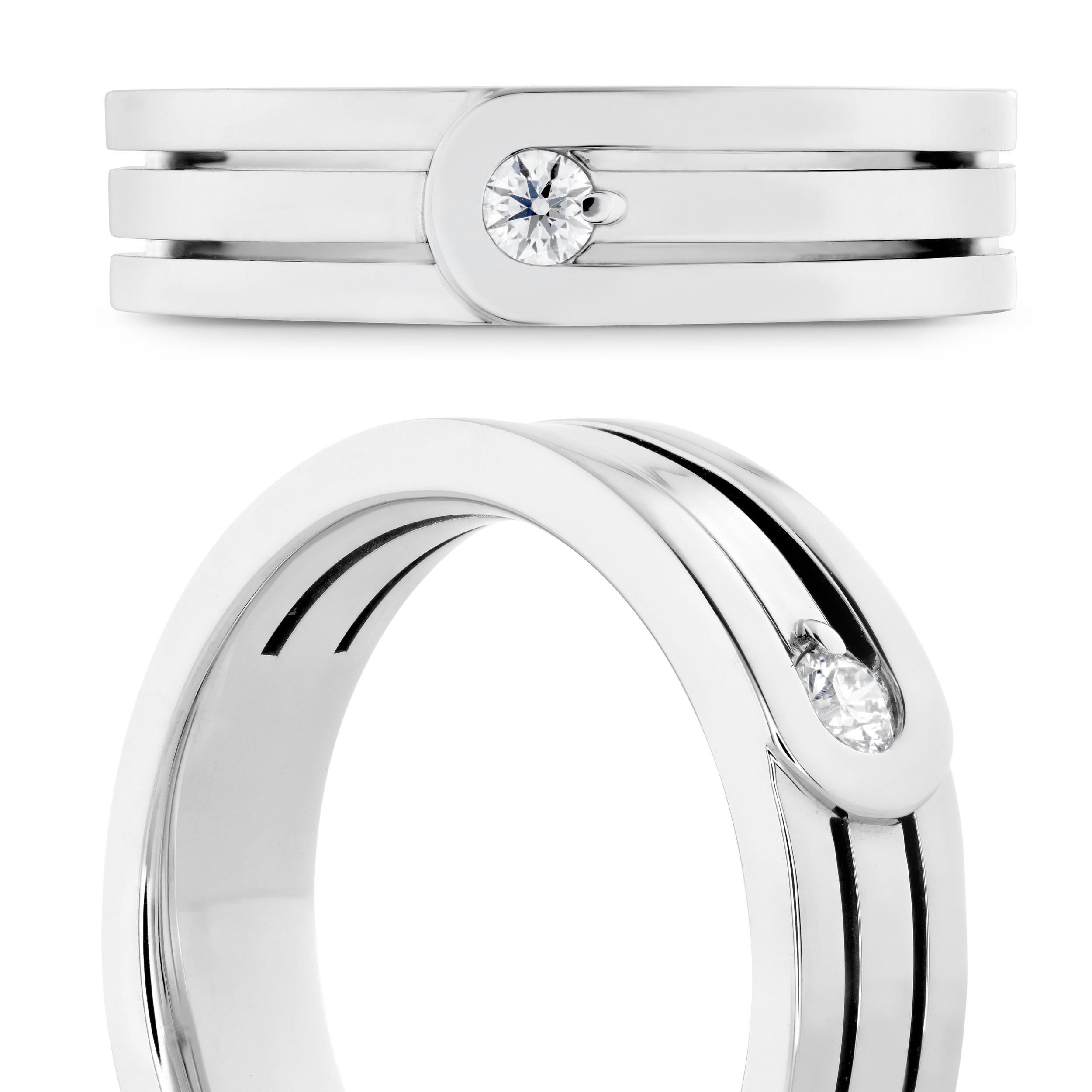 Hearts on Fire Ring   Ventura   Van Gundy Jewelers