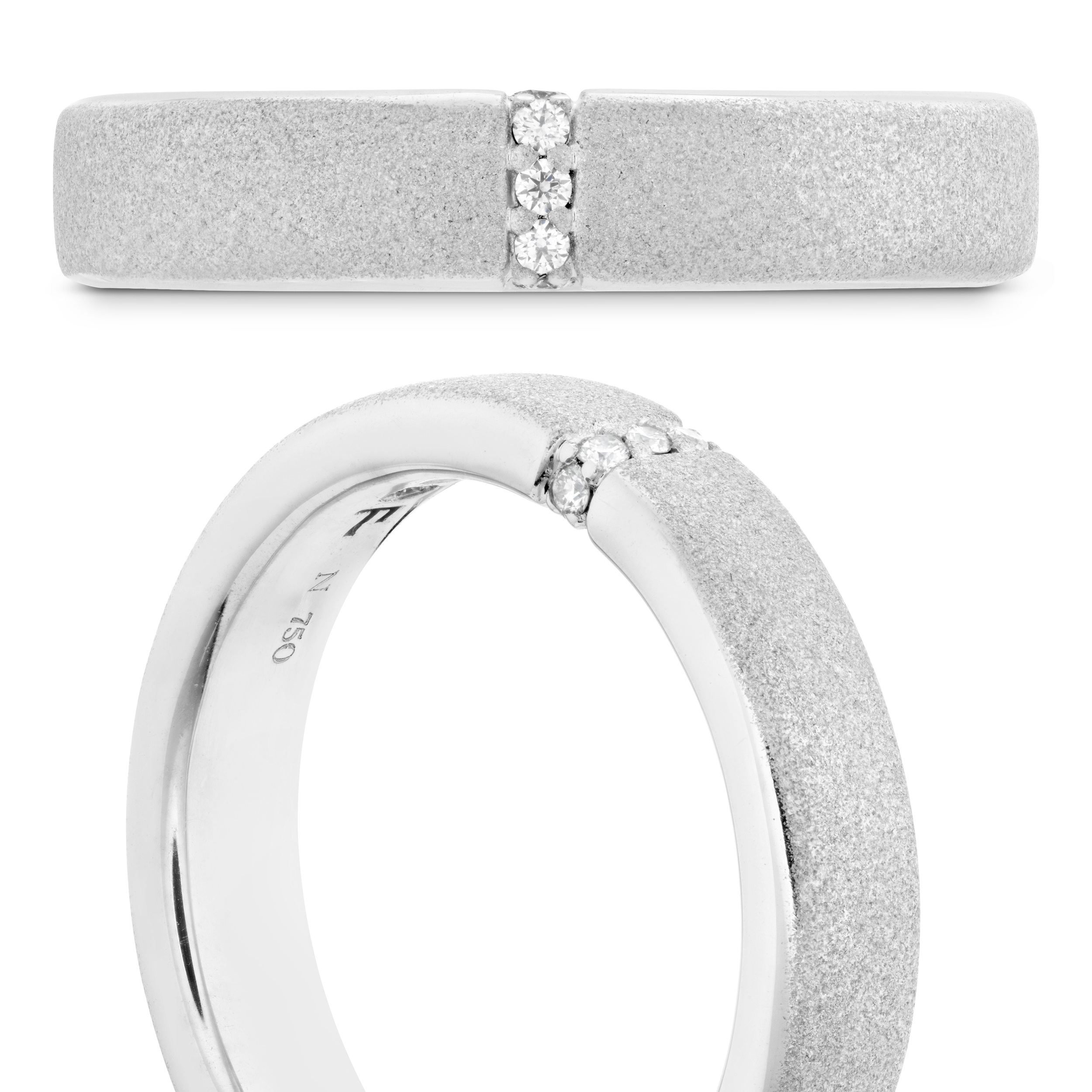 Hearts on Fire Silver Ring   Ventura CA   Van Gundy Jewelers