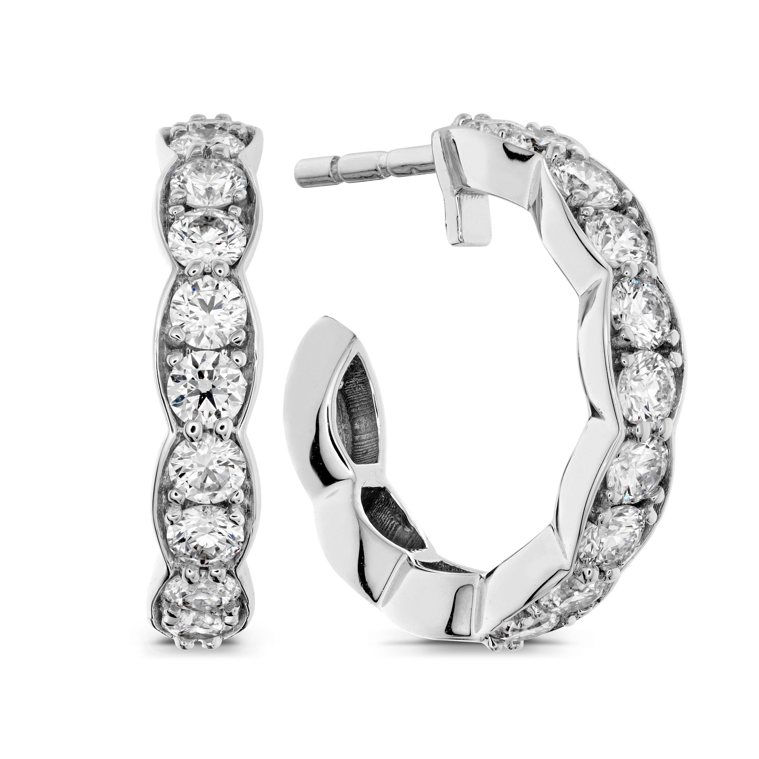 Hearts on Fire Earrings   Van Gundys   Camarillo Jewelers