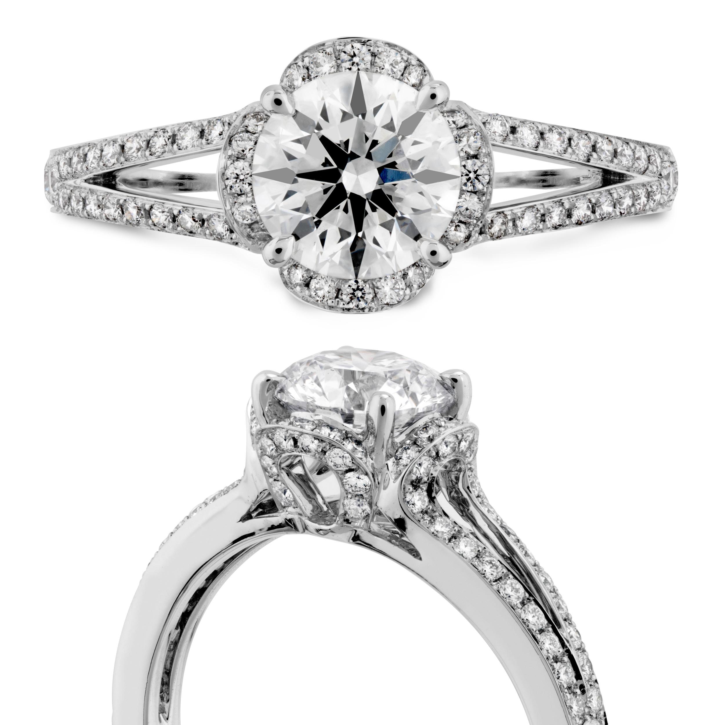 Hearts on Fire Ring   Van Gundys   Ventura CA Jewelers