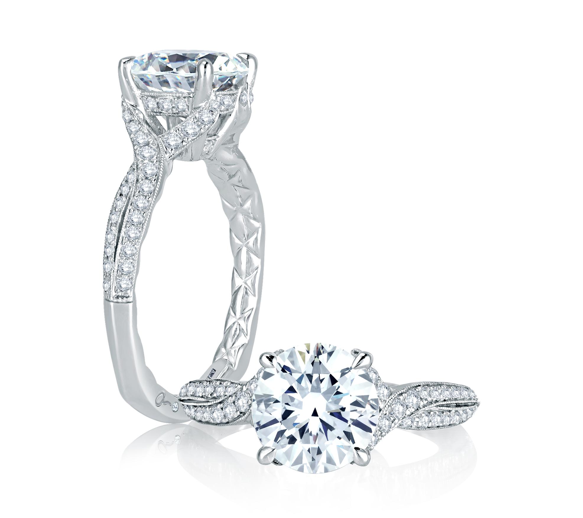 Classic Engagement Ring | Camarillo, CA | Van Gundys