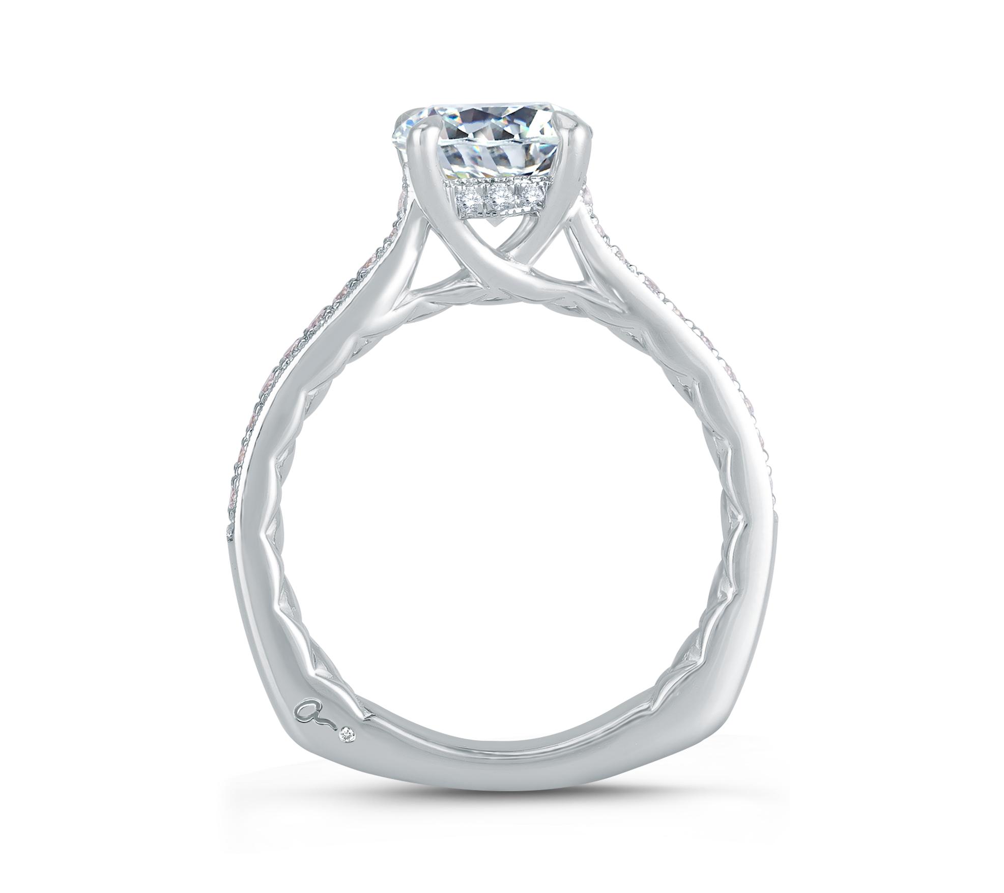 Diamond Engagement Ring | Ventura Jewelers | Van Gundys