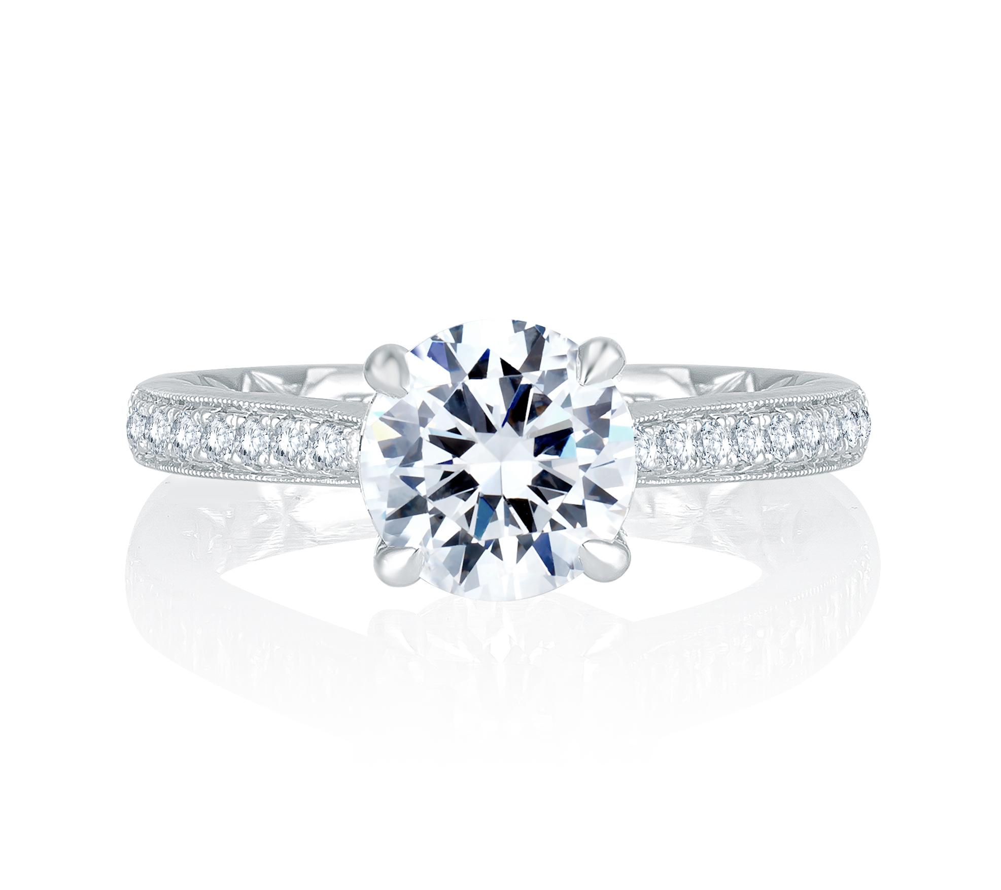 Diamond Engagement Ring | Camarillo Jewelers | Van Gundys