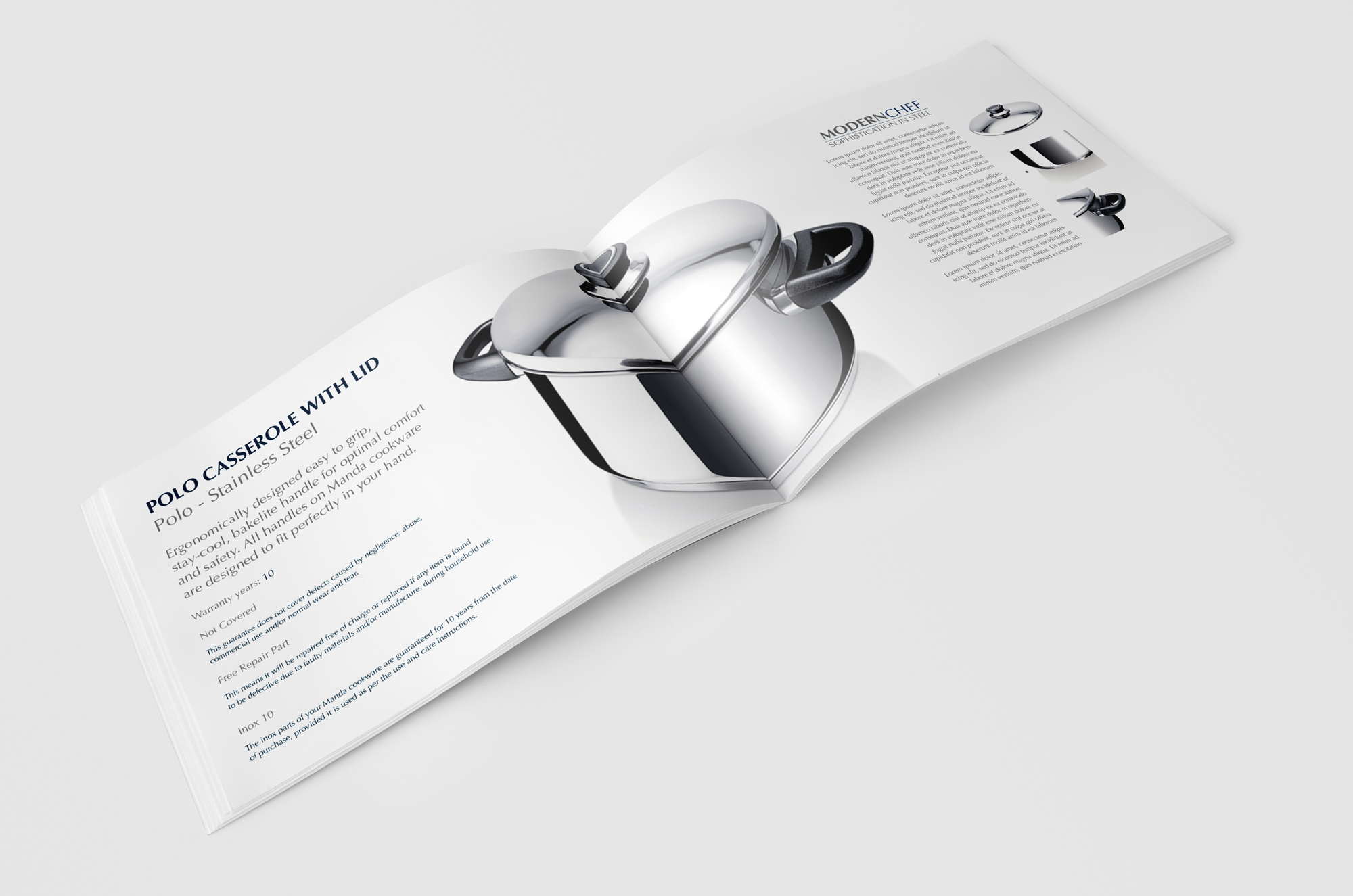 Product Catalogue for MANDA Steelware