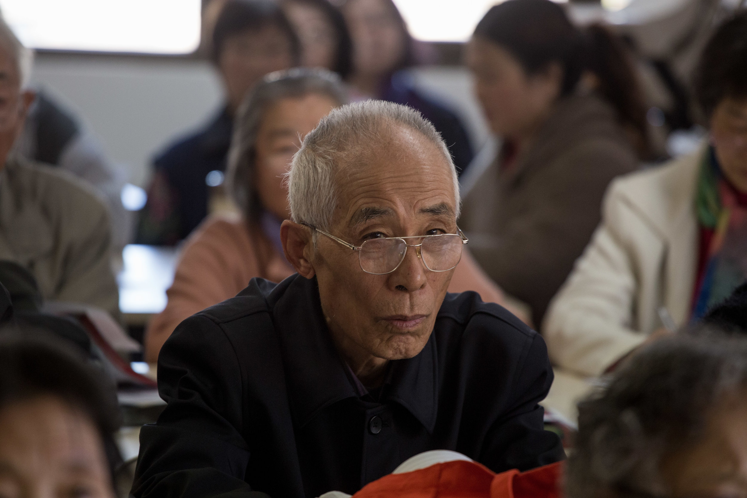Chinese Seniors English Classes