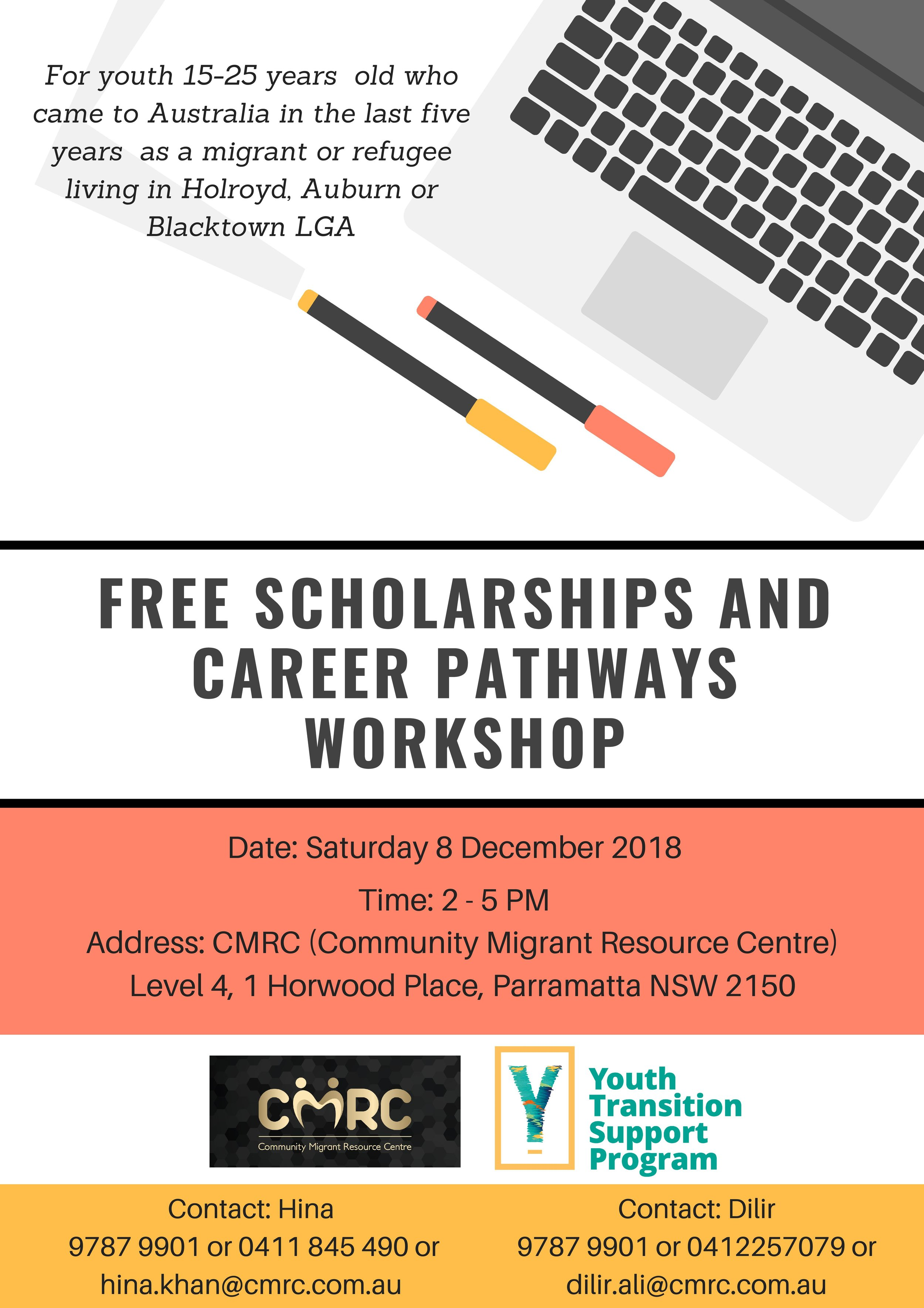 Flyer - Scholarship and Career Pathways Workshop 8.12.18-page-001.jpg