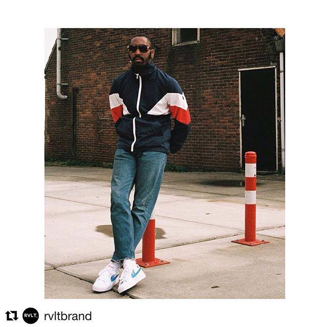 T-T-TRACK JACKET! perfect for this season 🤘. RVLT! . #fnv #fnvitaly #fnvshowroom #rvlt #rvltbrand #denmark #italy #distributor #distribution #trackjacket #fashion #retro #menstyle #menswear