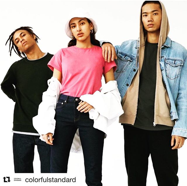 Basic is always a good idea 👍🏻👍🏻😎😎. #Repost @colorfulstandard with @get_repost ・・・ #colorfulstandard #danishdesign #organic #colors #clothing #madeinportugal #fashion #fnvitaly #ss18 #basictee #crewneck #hoodie  #brightcolors