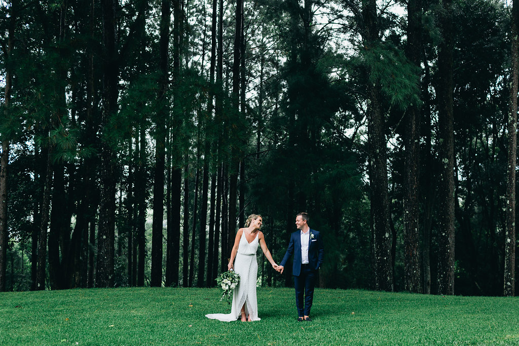 Eliza & Tristan, married at Verandahs Byron Bay. Photo by Figtree Wedding Photography