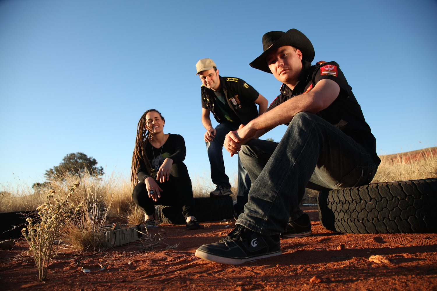 New Dub City, Warakurna Aboriginal Community, 2011.  Photo: Stefan.