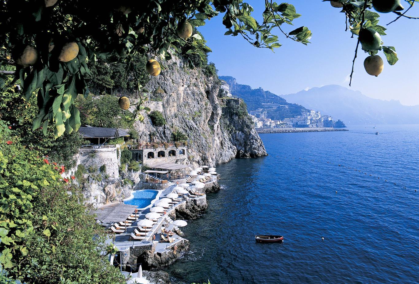 Sea views at  Santa Caterina , Italy