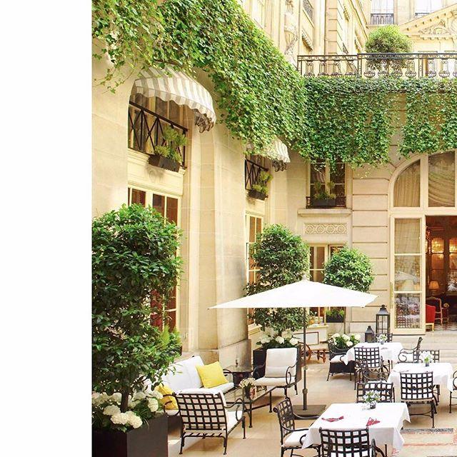 Hoxton Hotels outside sitting area, the perfect place to soak up the Parisian culture. - - - - - #Paris #PFW #coolcarryon #eddieharrop #travelista #travel #travelchic