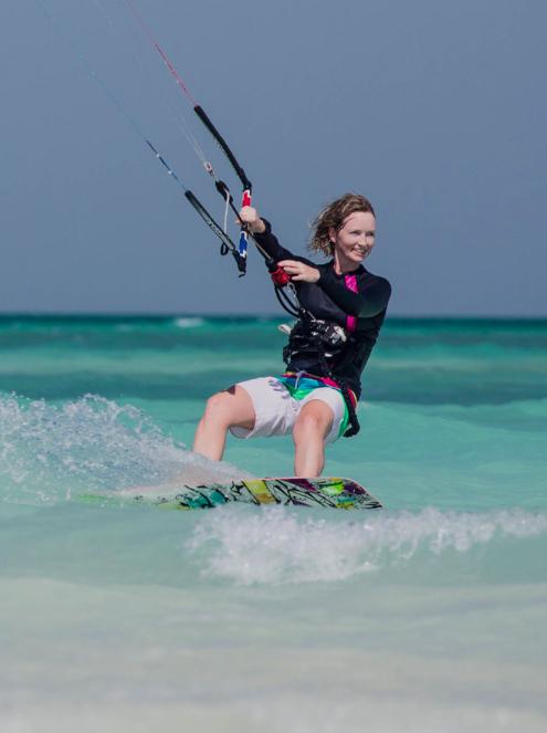 Zakhera beach - Level: All levels. Style: open beachWater: Flat. Beach goers: weekendsFeatures: tidal beachCar type: Any