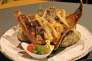 Crispy Whole Fried Flounder