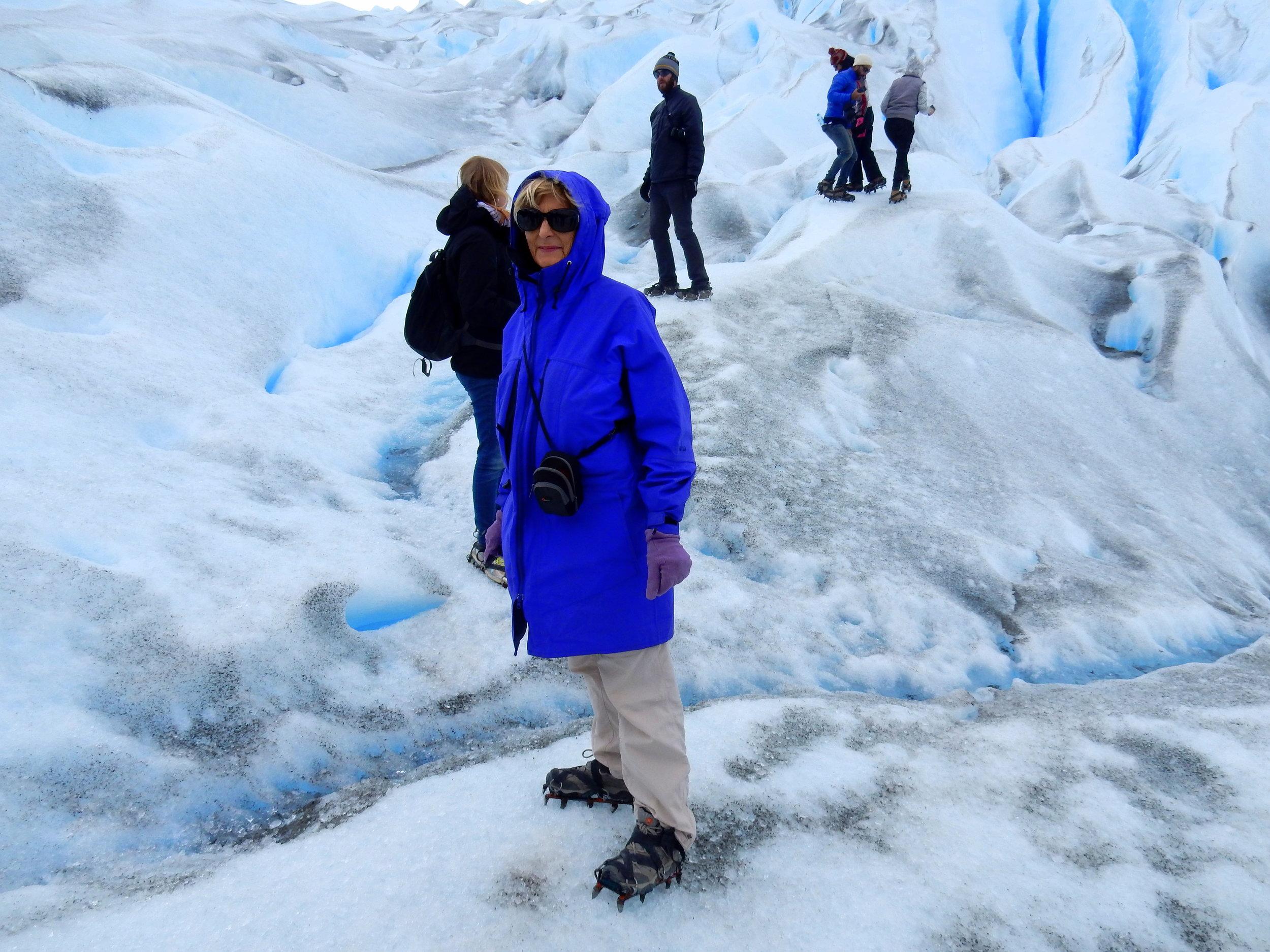 Just getting my glacier legs