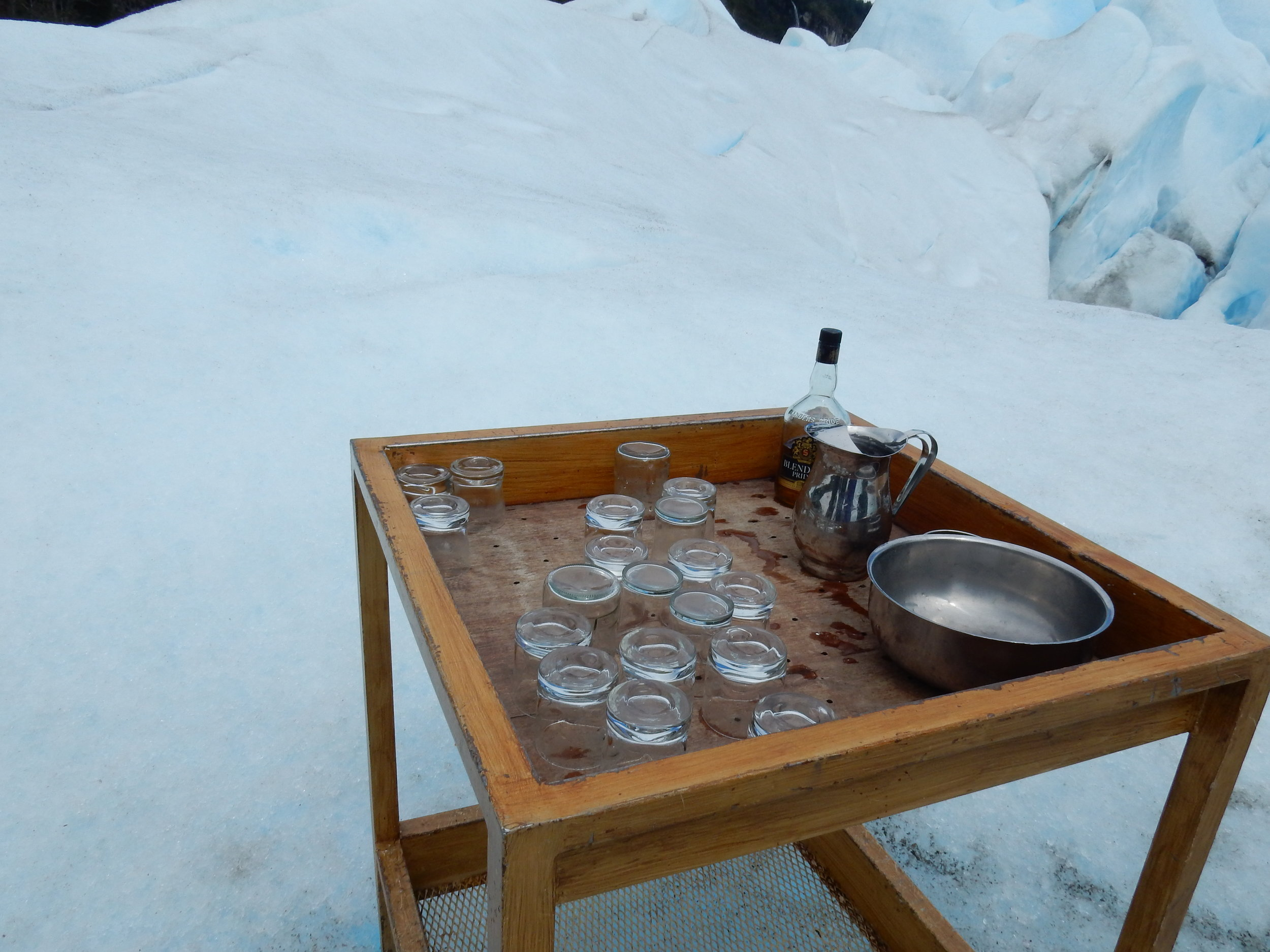 Anyone for a whisky with glacial ice?