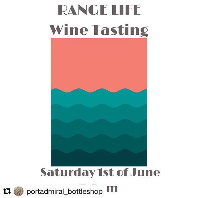#Repost @portadmiral_bottleshop with @get_repost ・・・ We have Steph from @agoodbunch down in the bottle shop showing us the latest release from the good heads at @range_life_wine wines.  Come down for a taste and a chat about how our dad's are old school mates and other common Adelaide anomalies.  Today from 2-5pm