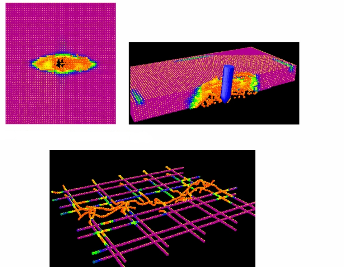Impact damage assessment of reinforced concrete