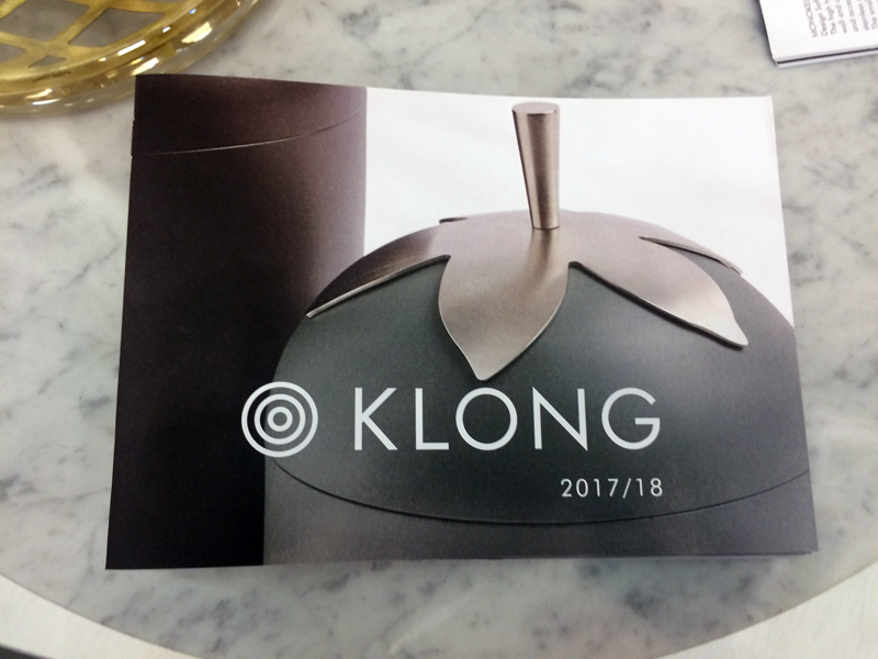 New catalogue for Klong