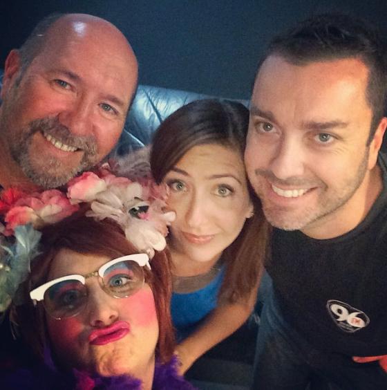 Carmen, Fitzy & Blackers (Radio)