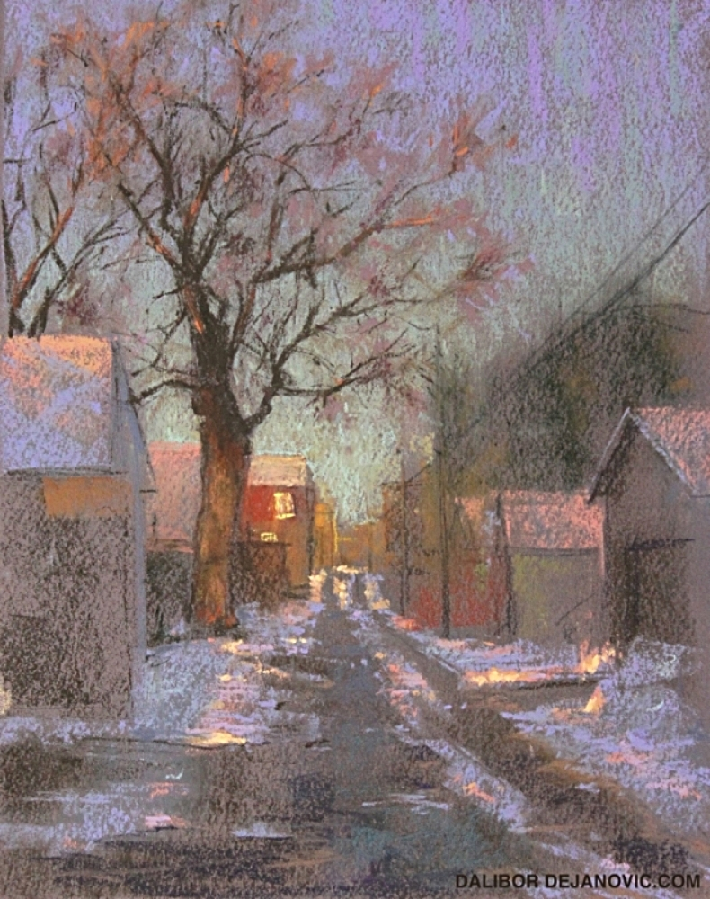 Winter Backlane