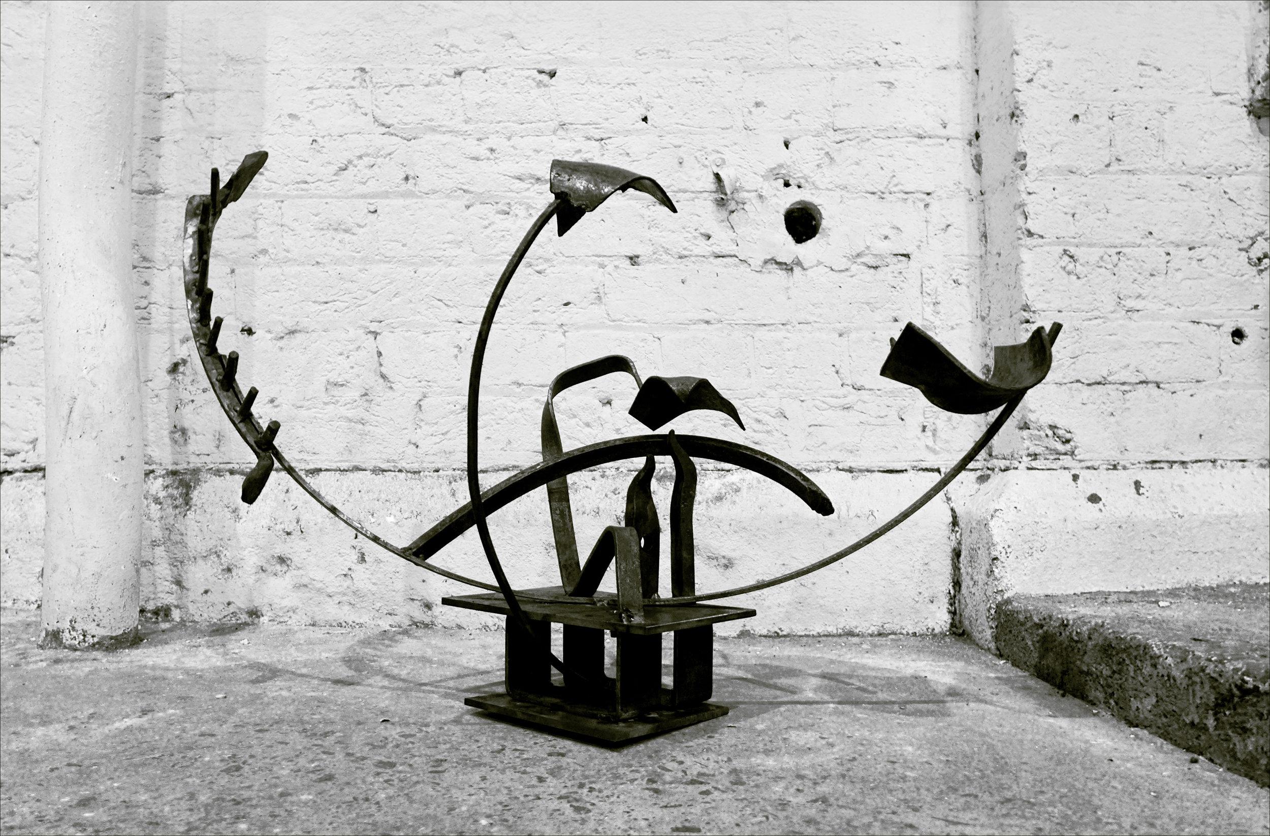 Metalwork for sculpture course in Sydney