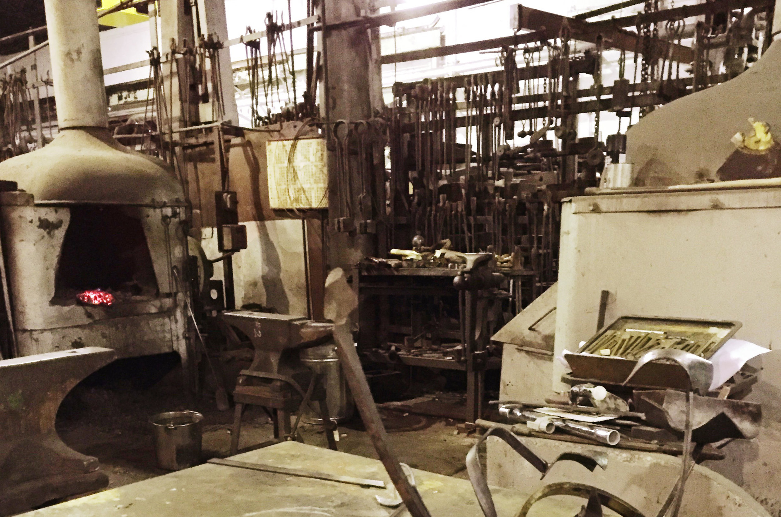 Equipment at the Eveleigh Workshops