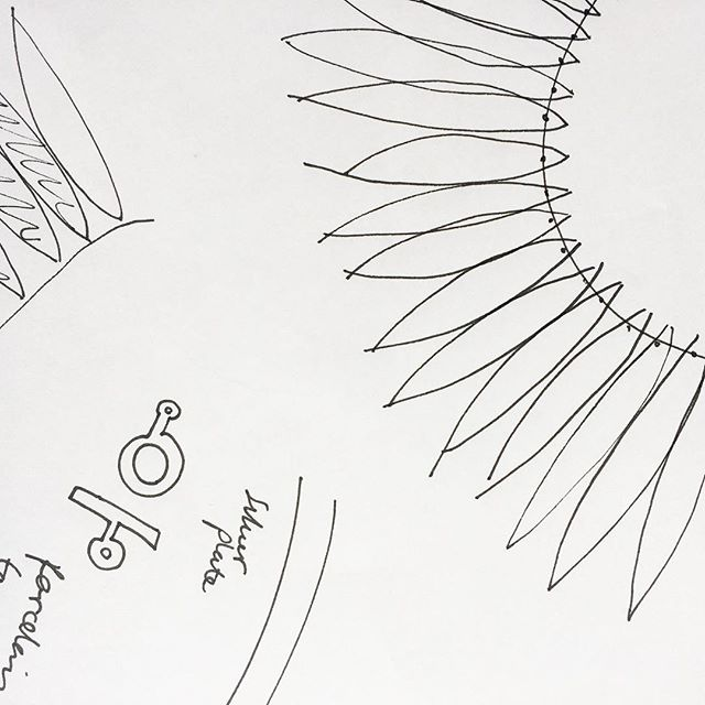Sketch . #art #creative #drawing #photography #ceramics #jewellery #jewelry  #inspiration