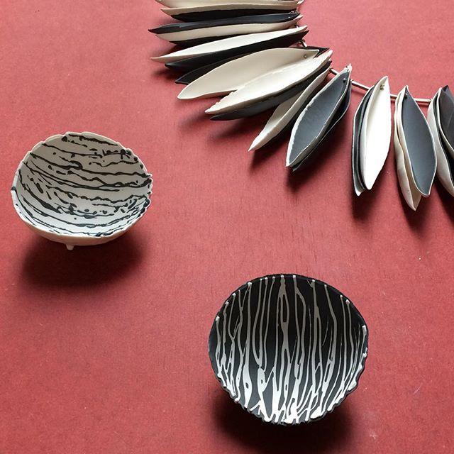 Process pieces #art #bowl #ceramics #composition