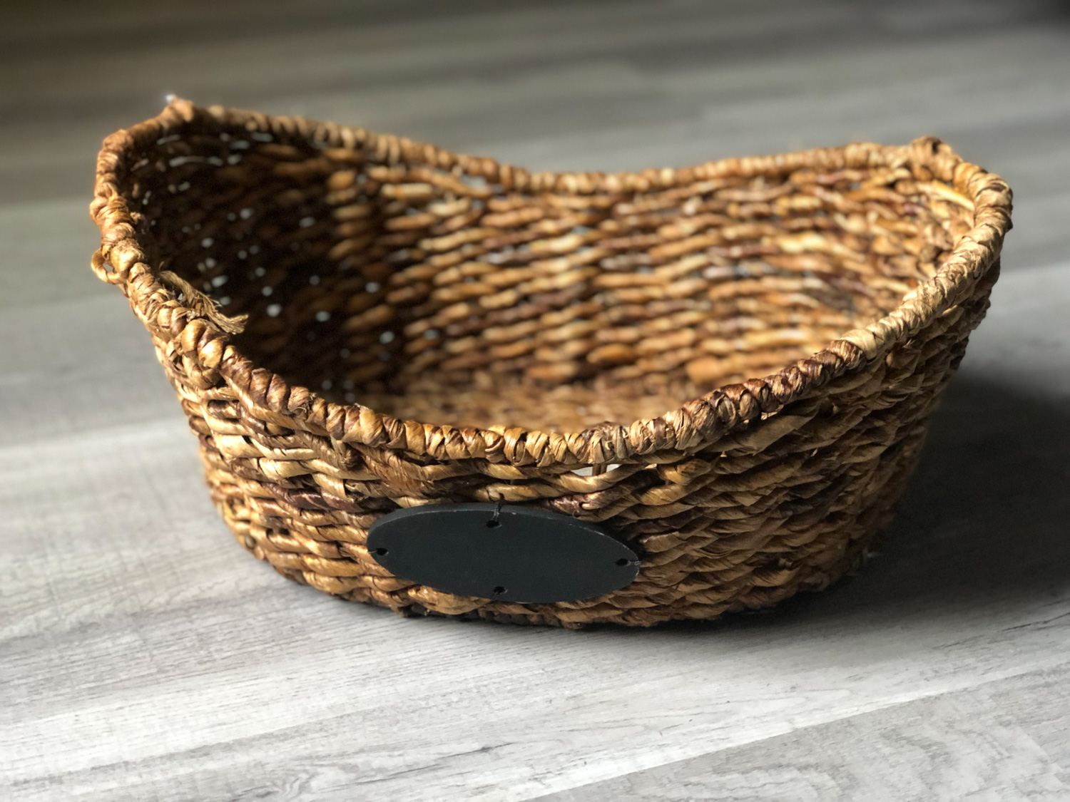Brown Name Basket