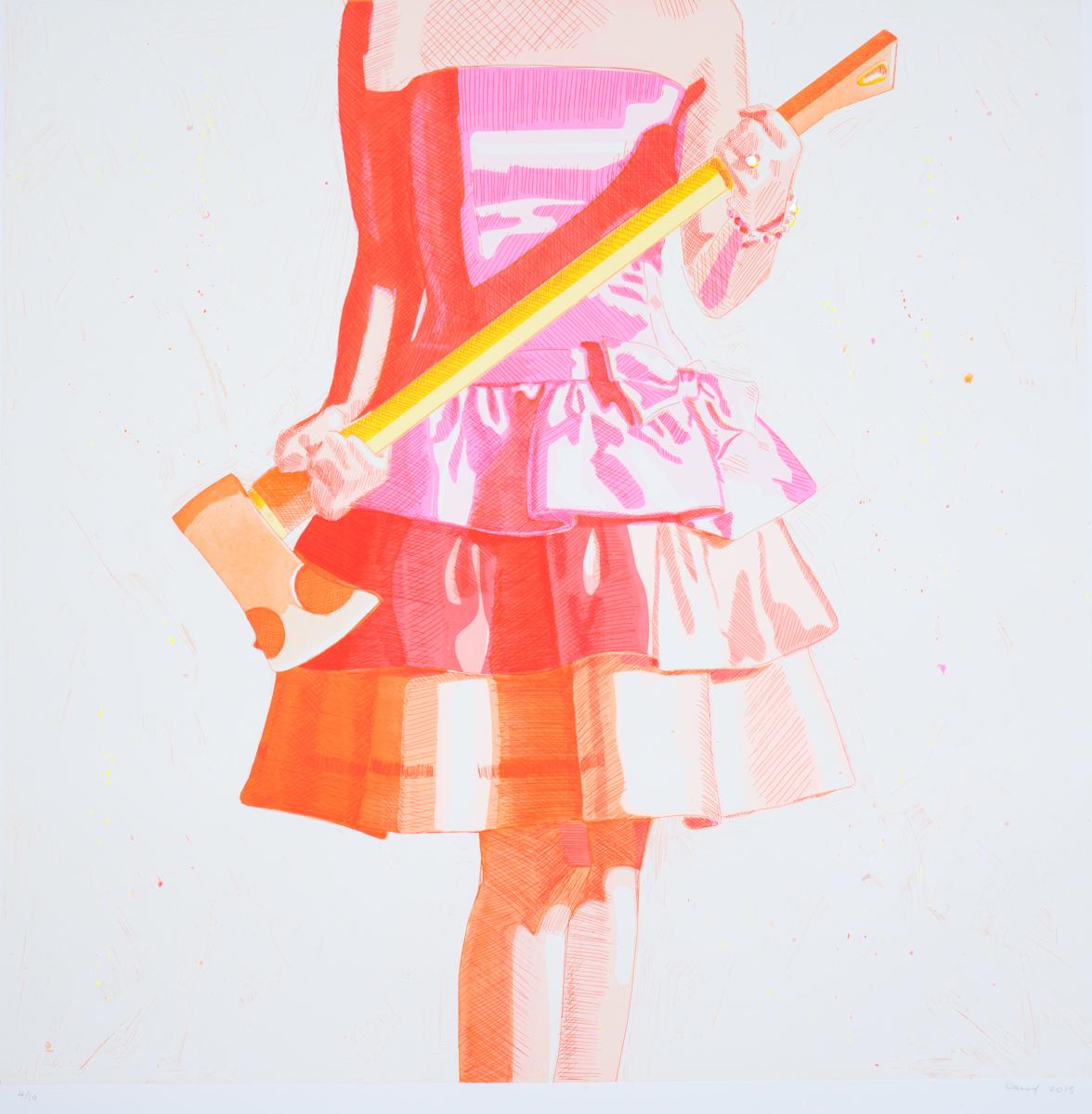 Birthday Girl (Orange), 2015