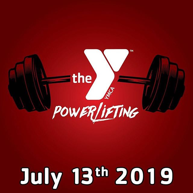 💪🏻Register now for our powerlifting meet. We have multiple age and weight divisions so don't feel intimidated. This is all about challenging yourself and testing your limits! Open to men and women 14 years and older! Call the Y for more information ✅