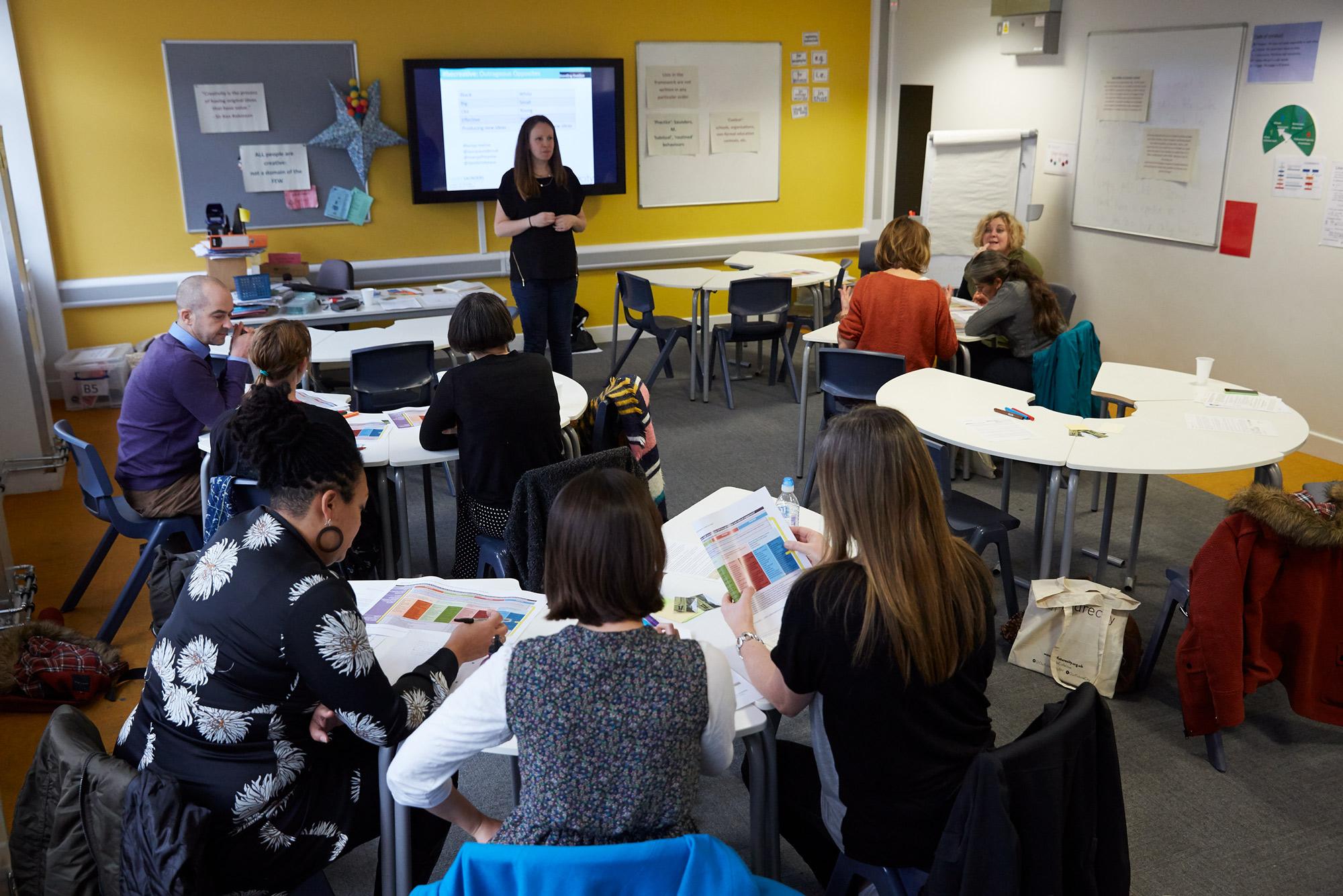 Laura Saunders - #BeCreative - Creativity framework explained