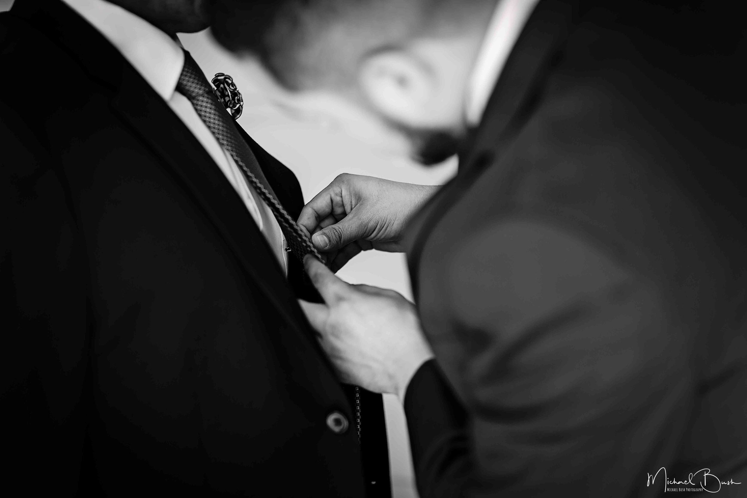 Wedding-Details-Groom-Fort Worth-b&w-Getting Ready-bestman.jpg