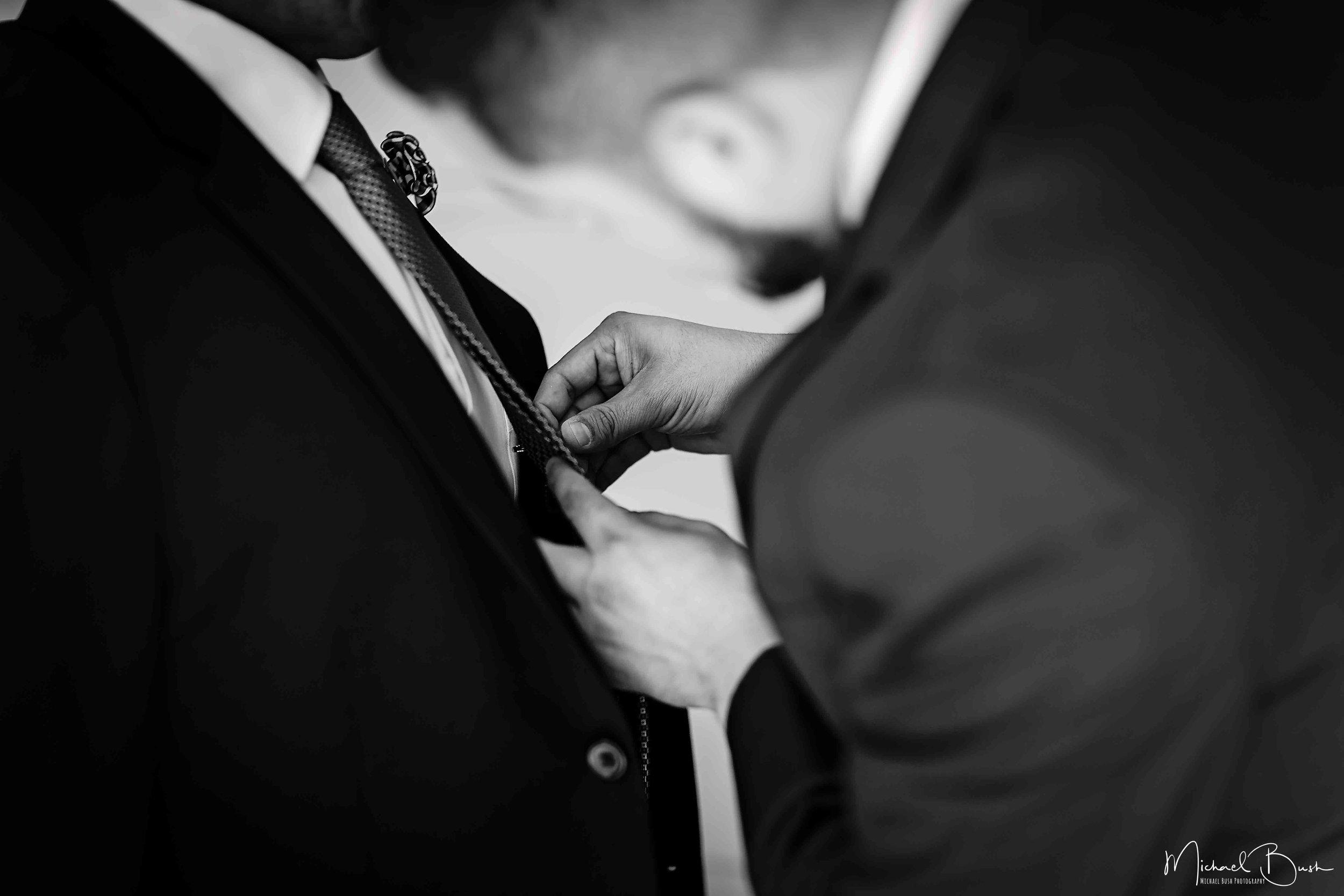 Wedding-Details-Groom-Fort Worth-b&w-Getting Ready-bestman.jpg
