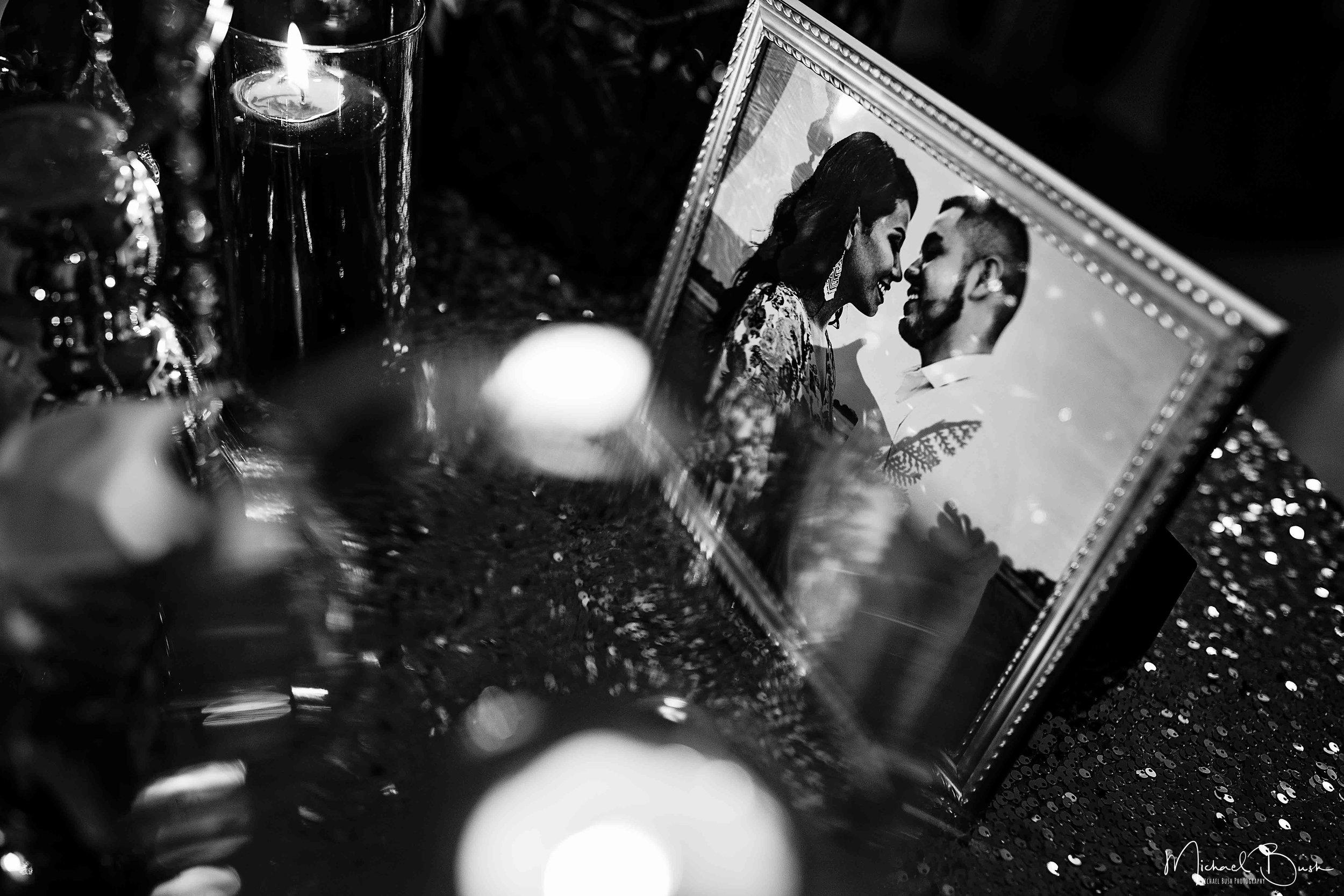 Wedding-Reception-Detials-Fort-Worth-Venue-picture-frame-love.jpg