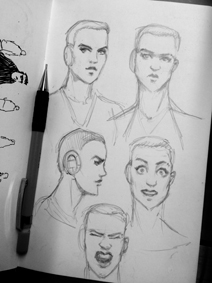 Some sketches/research on Artemis