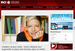 Interview from Maryse Jobin, Radio-Canada.