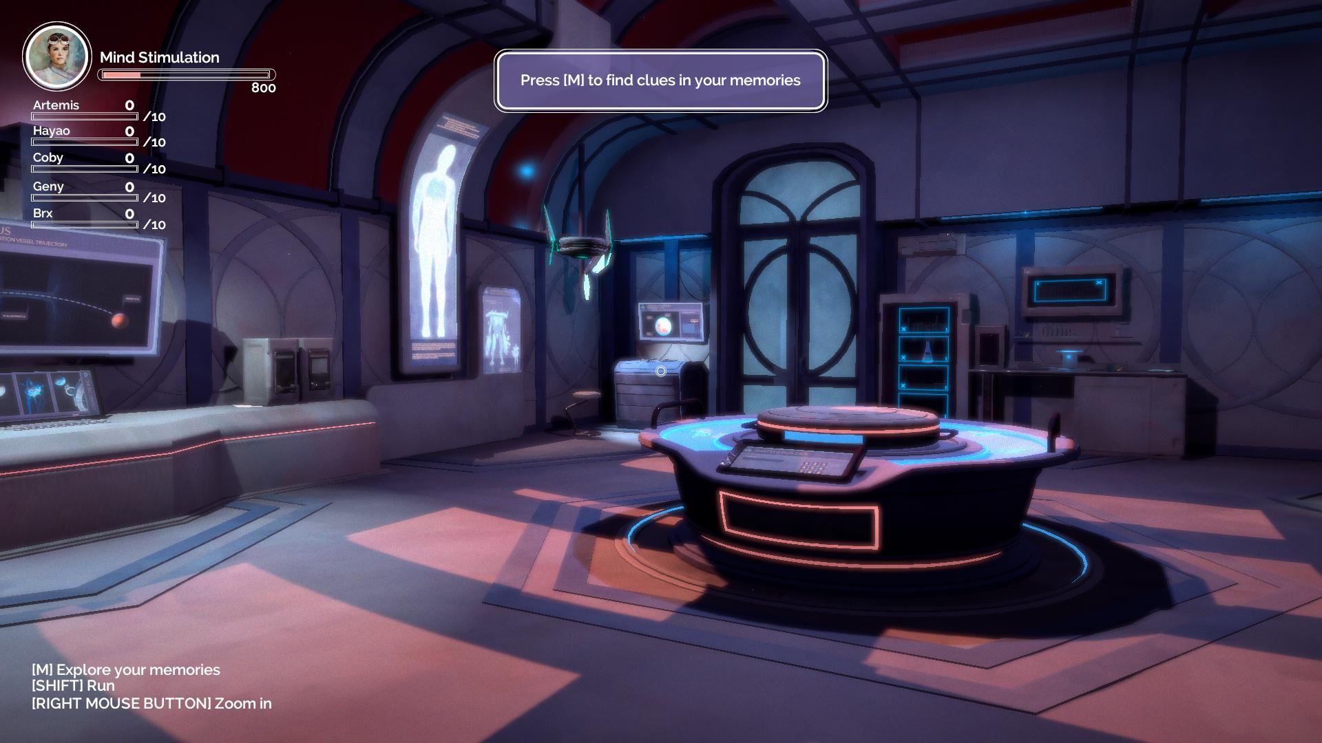 The Puzzle Room from Primus Vita demo 1.5