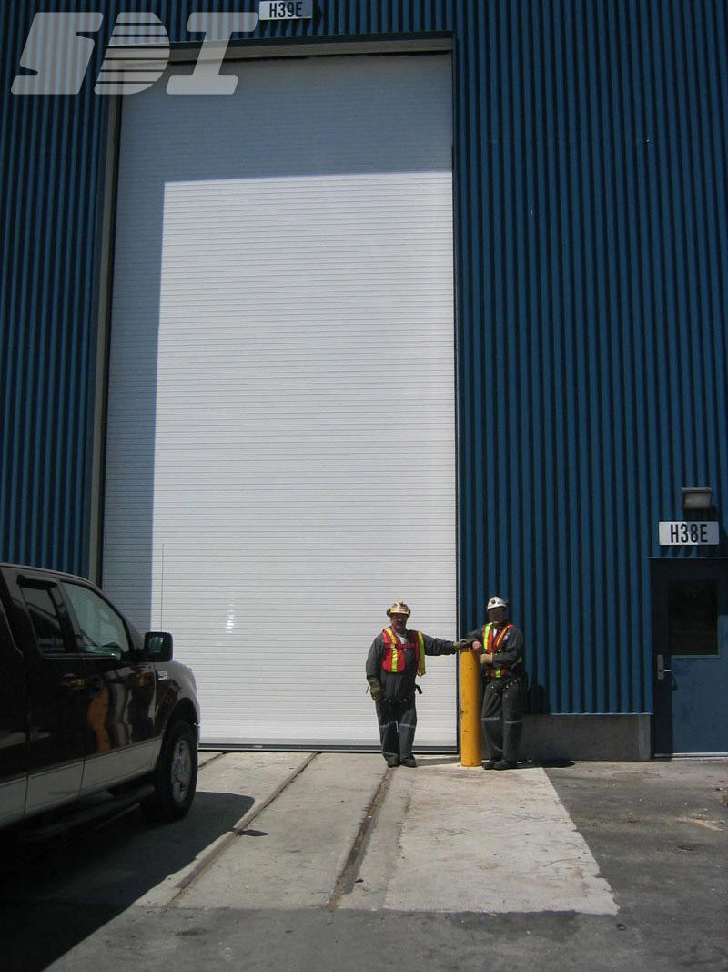 Powdercoated Rolling Steel Door