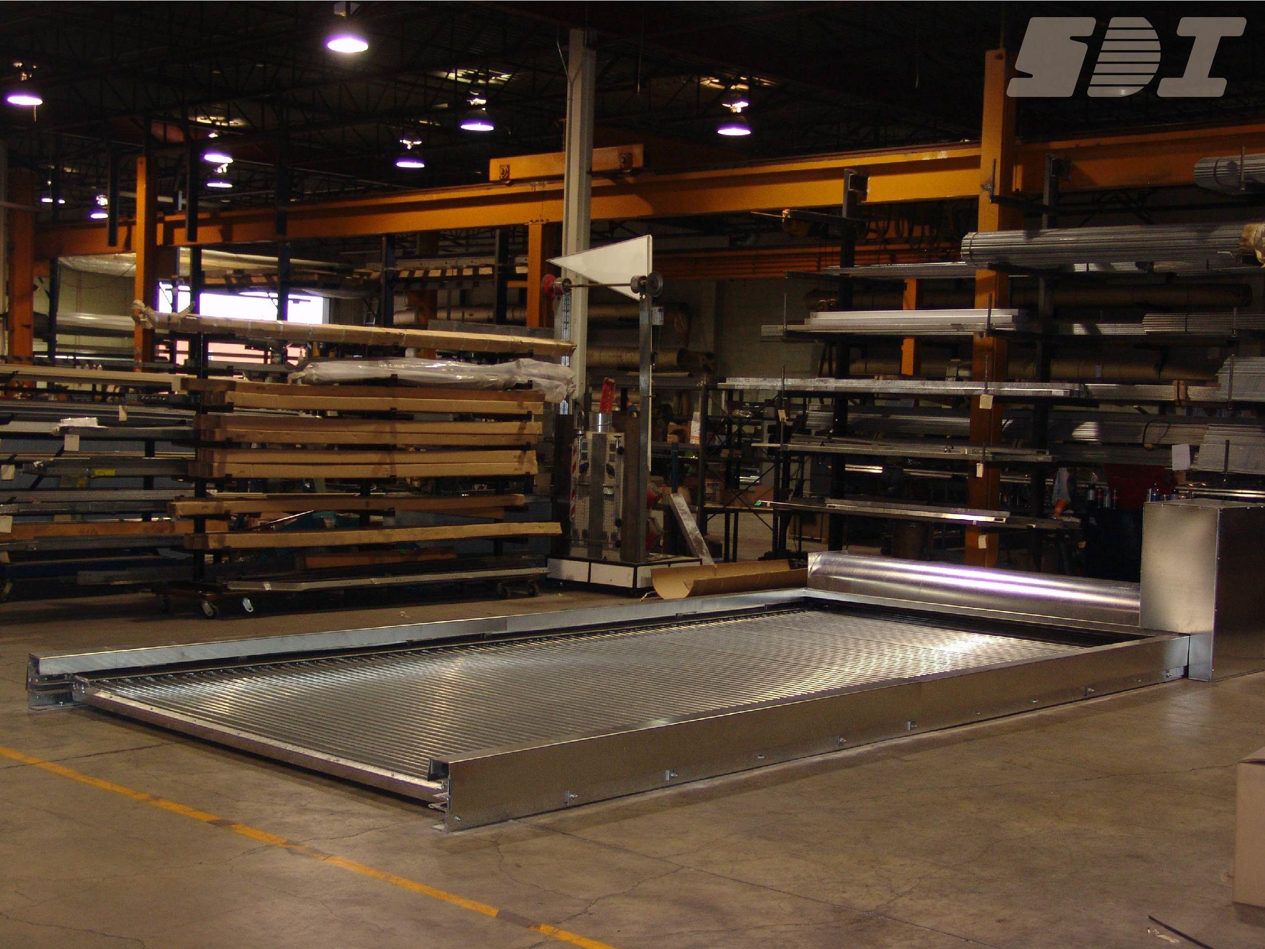 Horizontal Rolling Steel Door