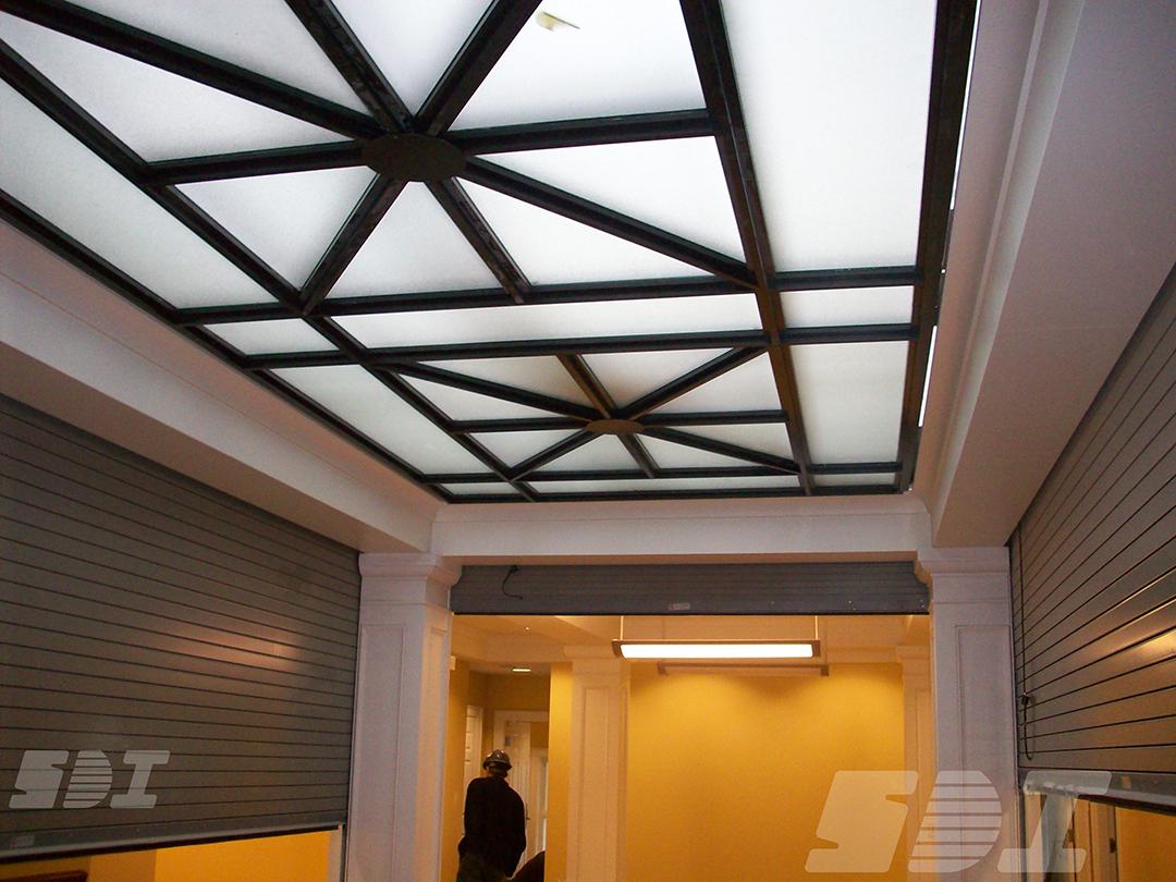 Counter Fire Doors - Atrium