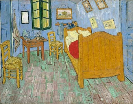 Vincent van Gogh, The Bedroom (1889)